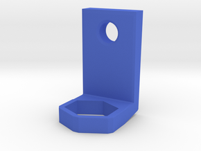 Toothbrush Holder in Blue Processed Versatile Plastic