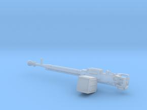 DShK Machine gun 1:25 scale in Smooth Fine Detail Plastic