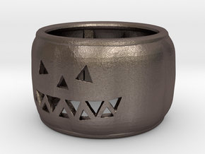 Pumpkin Ring 25mm in Stainless Steel
