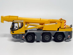 1:87 crane 45to.,3axle - Autokran 45to.,3achs in Smooth Fine Detail Plastic