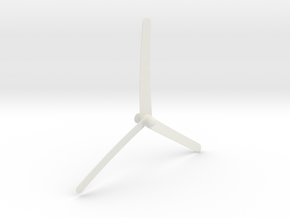Pencil Propeller in White Strong & Flexible