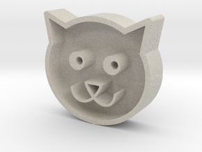 Cat head in Natural Sandstone