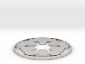 """Imperial Coaster - 3.5"""" in Platinum"""