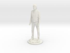 Paul McCartney 3D Figure in White Natural Versatile Plastic