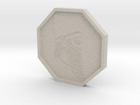 Elder Scrolls Dwemer Coin in Sandstone