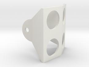 two ultrasonic model holder  in White Natural Versatile Plastic