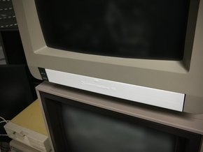 Cover compatible to Commodore Monitor 1901 in White Natural Versatile Plastic