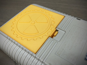 Battery Cover compatible to Nintendo® Game Boy™ in Yellow Strong & Flexible Polished