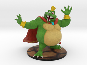 King K. Rool - 80mm in Full Color Sandstone