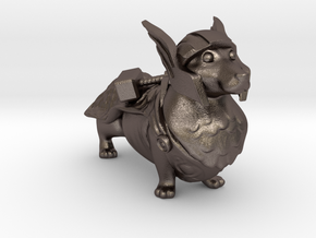 Thorgi  in Polished Bronzed Silver Steel