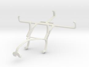 Controller mount for Xbox 360 & Motorola Moto G Du in White Natural Versatile Plastic