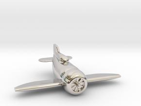 Gee Bee Racer in Platinum