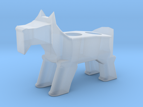 Terrier Pencil Holder in Smooth Fine Detail Plastic