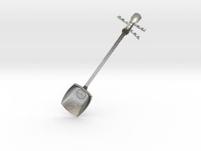 Tsugaru Shami-spoon in Natural Silver