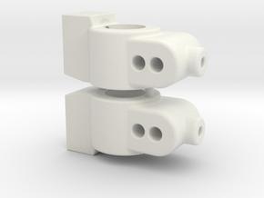 CUSTOMWORKS - HUB CARRIER - 1 DEGREE in White Natural Versatile Plastic