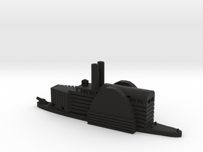 1/600 USS/CSS Queen of The West in Black Strong & Flexible