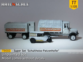 Super set 'Schultheiss-Patzenhofer' (TT 1:120) in Smooth Fine Detail Plastic