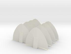 Energy Barricade 06mm 8 Pack in White Strong & Flexible
