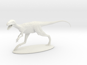 Eotyrannus 1:20 in White Natural Versatile Plastic