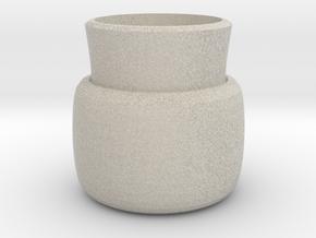 2 layers vase in Natural Sandstone