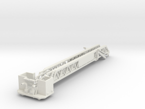 Vehicle-016-retracted-platform 1-64 in White Natural Versatile Plastic