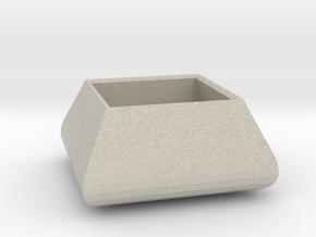 Square bowl in Natural Sandstone
