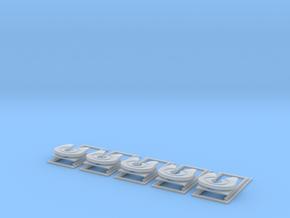 1/87 verschiebbare Sattelkupplung 5er in Frosted Ultra Detail