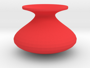 Standard shape vase in Red Strong & Flexible Polished