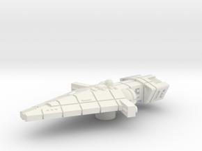 Orion (KON) Frigate in White Natural Versatile Plastic