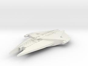 G'quan Class Heavy Cruiser in White Natural Versatile Plastic
