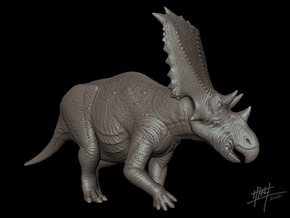 Chasmosaurus Russelli 1/40 in White Strong & Flexible