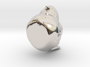 30623 in Rhodium Plated Brass