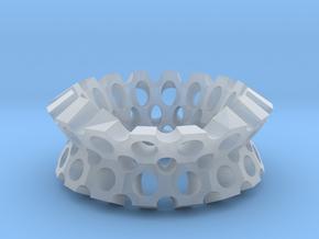 Round holes bracelet in Smooth Fine Detail Plastic
