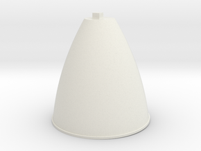 15-Ascent Engine in White Natural Versatile Plastic