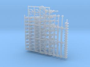 machine Handle/knob Asst in Smooth Fine Detail Plastic