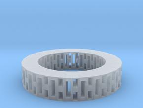 Rectangle holes bracelet in Smooth Fine Detail Plastic