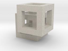 Rivilo Pendant in Natural Sandstone