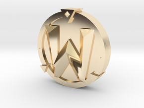 WoW Token in 14K Yellow Gold