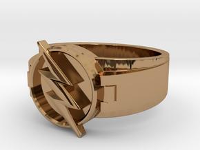V2 Reverse Flash Size 11 20.68mm in Polished Brass