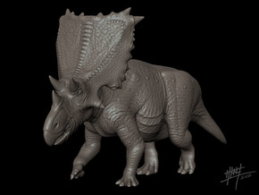 Chasmosaurus Russelli 1/72 in White Strong & Flexible