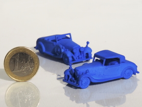 Bentley 1930 4,5L 1:87 in Blue Strong & Flexible Polished