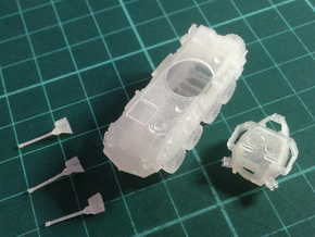 ASLAV-25 TYPE 1(N/1:144 Scale) in Smooth Fine Detail Plastic