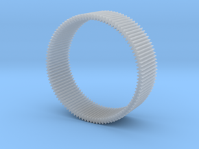Zig zag bangle in Smooth Fine Detail Plastic