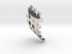 Inlay-Typ 2 for Crusader L in Rhodium Plated Brass
