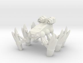 Bug Mech in White Natural Versatile Plastic