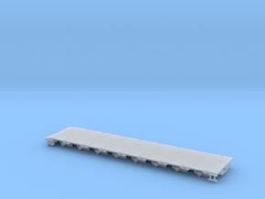 G 004 Umbausatz ähnlich Goldhofer 8 Achs in Smooth Fine Detail Plastic