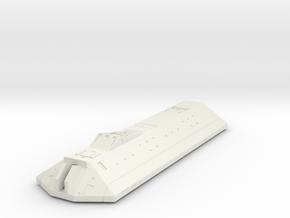 LoGH Alliance Carrier 1:3000 (Part 2/3) in White Natural Versatile Plastic