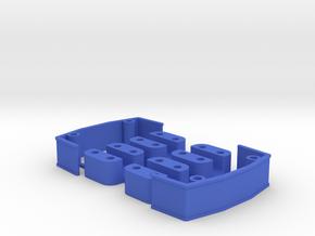 ZMR250 Maxi Spacers set - 13mm in Blue Processed Versatile Plastic