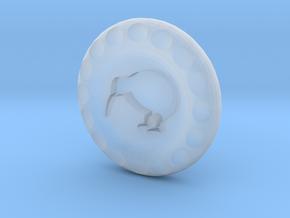 Golf Ball Marker Kiwi in Smooth Fine Detail Plastic