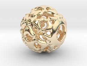 PA Ball V1 D14Se4931 in 14K Gold